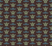 Seamless pattern. Royal Wallpaper. Retro — Fotografia Stock