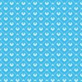 Seamless pattern. Royal Wallpaper — Stock Vector