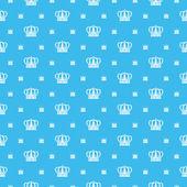 Seamless pattern. Royal Wallpaper — Stok Vektör