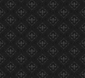 Seamless pattern. Royal Wallpaper. Black — Stockvektor