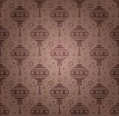 Asiatische Hintergrundmuster Textur — Stockvektor