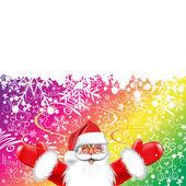 Merry Christmas, Santa Claus — Stock Vector