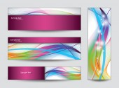 Colorful Banners Set — Stock Vector