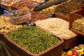 Editorial image from Barcelona market — Stock Photo