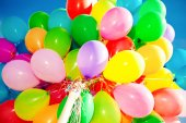 Balões — Fotografia Stock