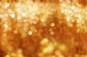 Autumn, fall background. Gold abstract bokeh defocused lights bl — Stockfoto