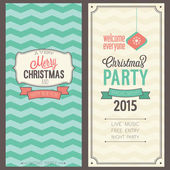 Christmas party invitation. — Stock Vector