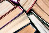Several old books — Stock Photo