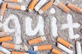 Antismoking background — Stock Photo