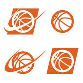 Basketball Logo Icon — Stockvektor