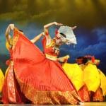 Chinese ethnic dance of Yi nationality — Stock Photo #56135363