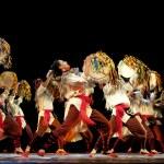 Chinese Qiang ethnic dance — Stock Photo #56135641