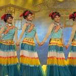Chinese ethnic dance of Yi nationality — Stock Photo #56137015