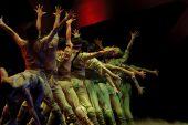 Moderna dansare — Stockfoto