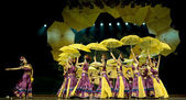 Chinese ethnic dance of Yi nationality — Stock Photo
