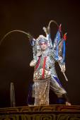 Chinese traditional opera actor with theatrical costume  — Stock Photo