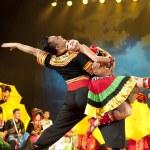 Chinese ethnic dance of Yi nationality — Stock Photo #57220761
