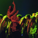 Chinese ethnic dance — Stock Photo #57331235