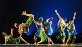 Dançarinos nacionais chinês — Fotografia Stock