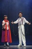 китайский юэ оперы исполнитель — Стоковое фото