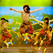 Chinese Tibetan ethnic dance — Stock Photo #58914293
