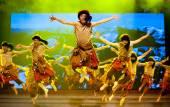 Chinese Tibetan ethnic dance — Stock Photo