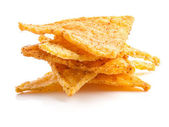 Salted corn chips — Stock Photo