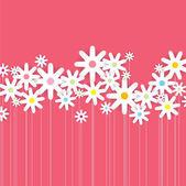 Flower Design Illustration — Stock Vector