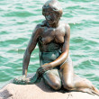The Little Mermaid is a bronze statue by Edvard Eriksen, depicti — Stock Photo #55309853
