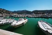 Marina at Majorca Balearic — Stock Photo