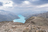 Lago de montaña en verano — Foto de Stock