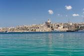 Valletta panoramik Skyline — Stockfoto