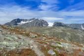 Mountains in summer at Jotunheimen — Stock Photo