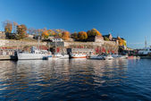 View at Akershus Fortress at fall — Foto Stock