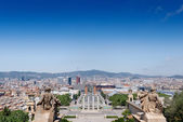 Barcelona on Placa De Espanya — Stock Photo