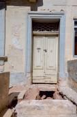Vintage door in house — Stock Photo