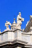 Piazza del Duomo in Catania — Stock Photo