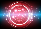 Futuristic Abstract Background — Stock Photo