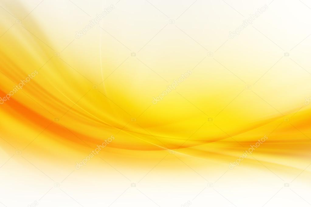 yellow abstract background design � stock photo