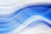 Синий фон изогнутые — Стоковое фото