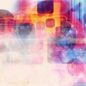 Futuristic Background — Stock Photo