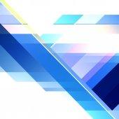 Futuristisches blau abstrakt — Stockfoto