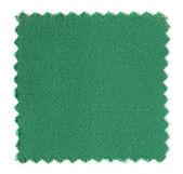 Próbki próbka zielony materiał na białym tle — Zdjęcie stockowe
