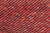 Old tiles roof background — Stock Photo