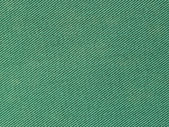 Green fabric texture for background — Stock Photo