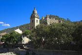 The beautiful small town of Dolceacqua, near Sanremo, Liguria, I — Stock Photo