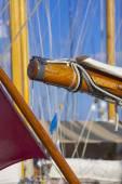 古帆船在沛纳海经典 yac 帆船赛期间 — 图库照片