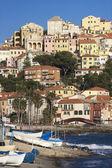 The beautiful Ligurian town of Porto Maurizio,Imperia, Italy — Стоковое фото