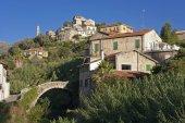 Dolcedo, a beautiful village near Imperia — 图库照片