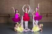 Ballerinas at a dance studio — Stock Photo